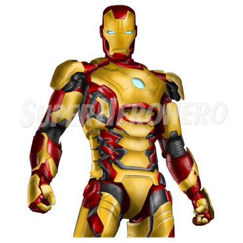 Designs Iron Man Iron on Transfers (Wall & Car Stickers) No.4585